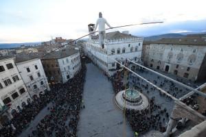 A Ferragosto il funambolo Andrea Loreni protagonista al Santuario di Castelmagno