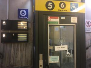 Gli ascensori della stazione di Cuneo fuori uso da più di due settimane