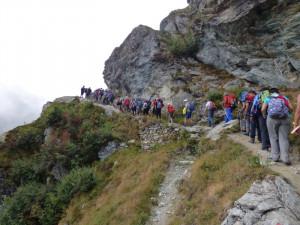 Sentieri socialmente utili: le escursioni conclusive di 'Officina MONVISO'