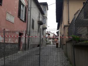 Si aprono crepe nelle pareti: dichiarate inagibili tre abitazioni a Borgo San Dalmazzo