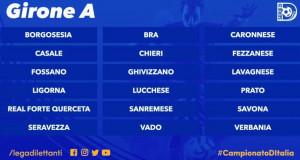 Calcio, pubblicati i calendari di Serie D: debutto casalingo per Bra e Fossano