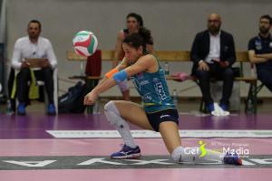 Pallavolo A2/F: Silvia Agostino nuova capitana dell'LPM BAM Mondovì