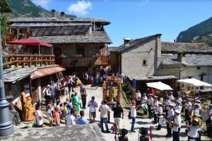 Domenica si è svolta la rievocazione storica della Bahio di San Lorenzo al Preit