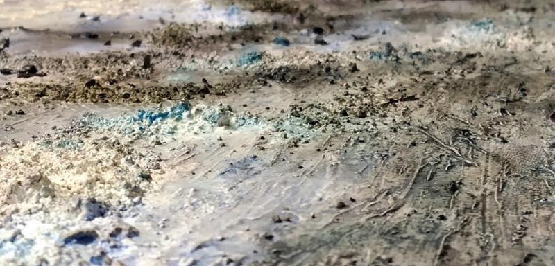 'Percorsi materici', a Palazzo Samone la mostra personale di Fabio Brambilla
