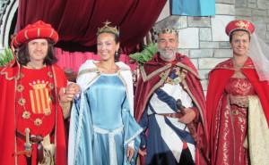 Anche i 'Marchesi di Busca' alla 'Torta dei Fieschi' a Lavagna