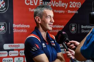 Pallavolo: per il coach del Vbc Mondovì Fenoglio inizia l'europeo femminile alla guida della Slovacchia