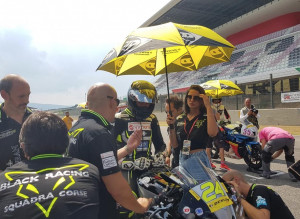 Motociclismo: weekend positivo nella Coppa Italia Velocità per la Black Racing Squadra Corse