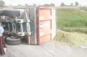 Incidente a Sommariva Bosco, coinvolto un trattore con rimorchio