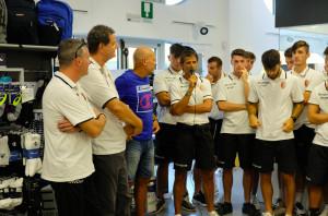 Calcio: presentata al Podio Sport la prima squadra dell'Olmo