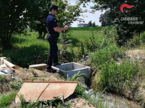 Irrigavano i loro campi attingendo da corsi d'acqua pubblici senza permessi