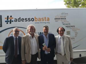 L'assessore Icardi a Santo Stefano Belbo per il tour della Federazione Italiana Medici di Medicina Generale