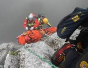Alpinista di Mondovì resta bloccato sulla ferrata dei Funs, in valle Gesso
