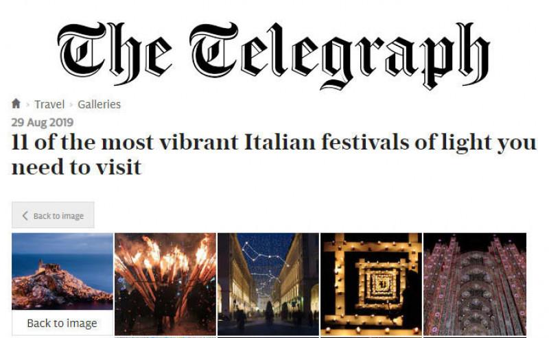 L'Illuminata varca i confini nazionali e sbarca sulle pagine del 'Telegraph'
