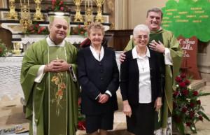 San Chiaffredo di Busca: festeggiamenti per Don Mauro e Suor Maddalena