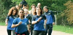 Cuneo riceve la 'Bandiera Azzurra' per l'impegno nella promozione della corsa e del cammino