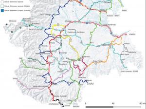 La Ciclovia della Valle Varaita inserita nella 'Rete ciclabile di interesse regionale'
