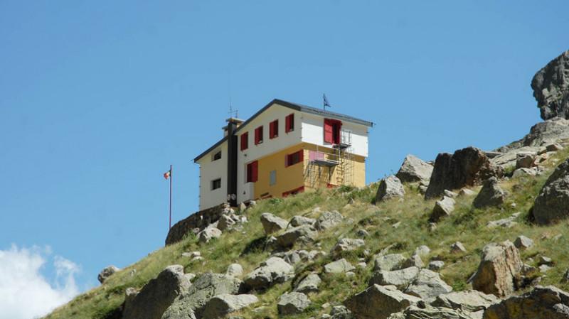 Il rifugio Soria-Ellena - foto A.Rivelli
