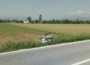 Incidente tra San Chiaffredo e Roata Rossi, c'è un ferito grave