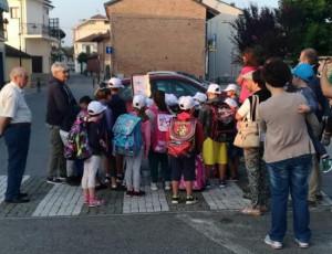 Bra: quattro giorni di Pedibus 'allargato' per raggiungere scuola