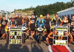 Motociclismo, Ivano Magnano del Moto Club Drivers Cuneo conquista il Trofeo Dunlop Stock 1000