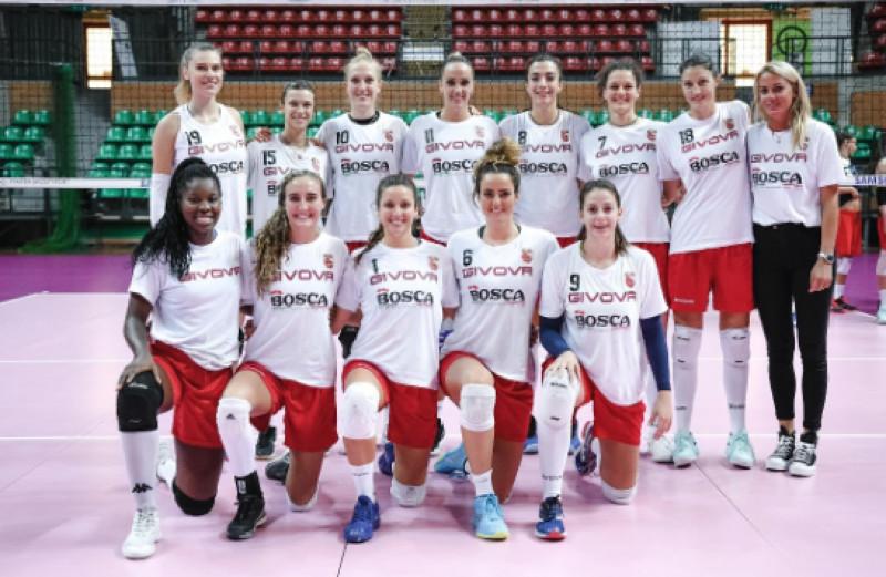 Sabato 28 settembre nel centro storico la presentazione delle squadre della Cuneo Granda Volley