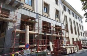 Iniziati i lavori per la messa in sicurezza delle facciate del palazzo della Provincia