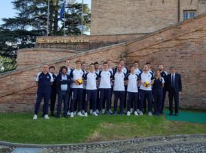 Pallavolo: la prima squadra del Cuneo Volley presentata al Castello di Carrù