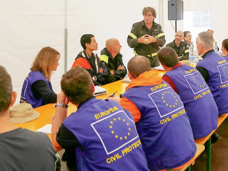 Mercoledì 2 ottobre in Sala Cdt si parla del Meccanismo europeo di Protezione Civile