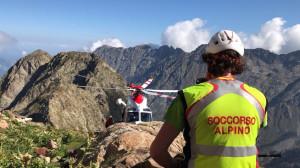Escursionista disperso in alta valle Po, sul posto Soccorso Alpino e Vigili del Fuoco