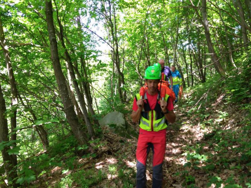Ritrovato l'escursionista disperso in alta valle Po: è illeso