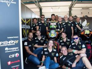 Motociclismo: si è conclusa a Misano la stagione della Black Racing Squadra Corse