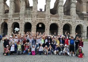 Viaggio premio a Roma per tre classi dell'istituto comprensivo di Busca