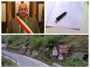 Valle Po, indirizzata al sindaco di Oncino una lettera contenente un proiettile