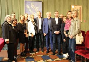Alba: accolta la delegazione di Banská Bystrica, in città per i 50 anni del gemellaggio