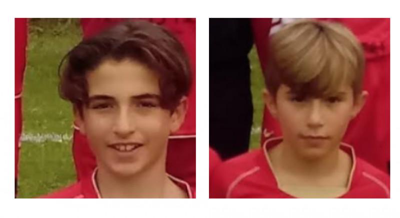 Calcio, gli auguri del presidente Beccacini a due giovani della Pro Dronero