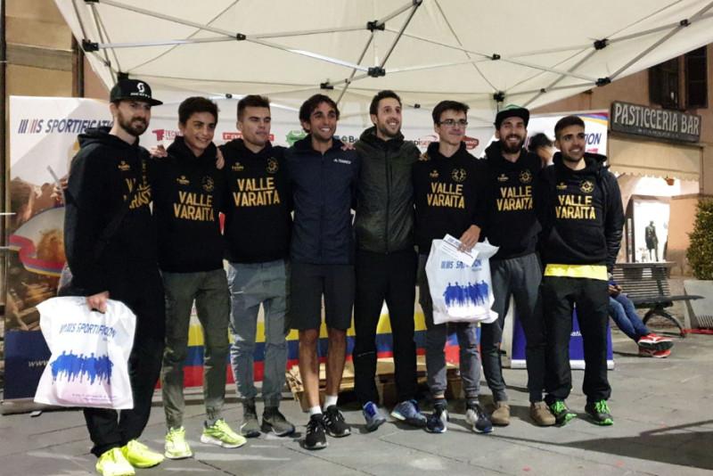 Bernard Dematteis e Giovanni Olocco trionfano nella 'Run Around Savigliano'