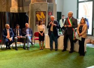 Inaugurata in Sala San Giovanni la 21esima edizione della Fiera del Marrone