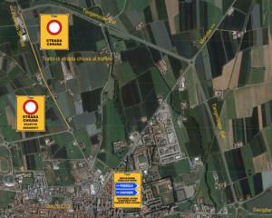 Senso alternato e chiusura per lavori di bitumatura sulla provinciale 589 e le tangenziali di Saluzzo