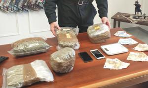 Bra, arrestato un 32enne per produzione e spaccio di droga