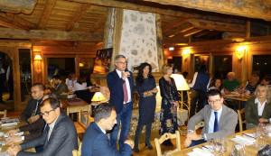 'A cena con il cuoco', ieri sera tappa in valle Vermenagna al 'Nazionale' di Vernante
