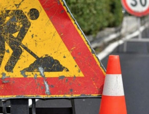 Lunedì 28 e martedì 29 ottobre cantiere della Provincia per asfaltare la rotatoria di Montanera