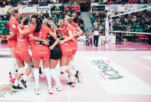 Pallavolo A1/F: la Bosca San Bernardo Cuneo vince e convince contro Monza