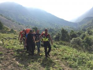 Escursionista infortunato tra Prato Nevoso e Artesina, interviene il Soccorso Alpino