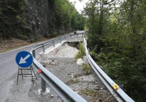 Sistemazione del dissesto sulla provinciale 178 tra Garessio e Pamparato, c'è il progetto