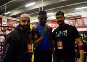 Boxe Cuneo: il puglile Alessio Ejohwomj al galà di Albertville