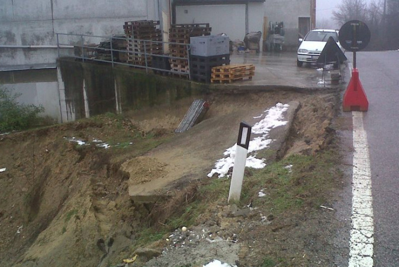 Via libera al progetto per la sistemazione della frana di Montà, in località Vadrile