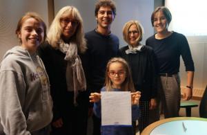 Il Banco Azzoaglio di Ceva sostiene la quindicesima Borsa di studio Intercultura onlus