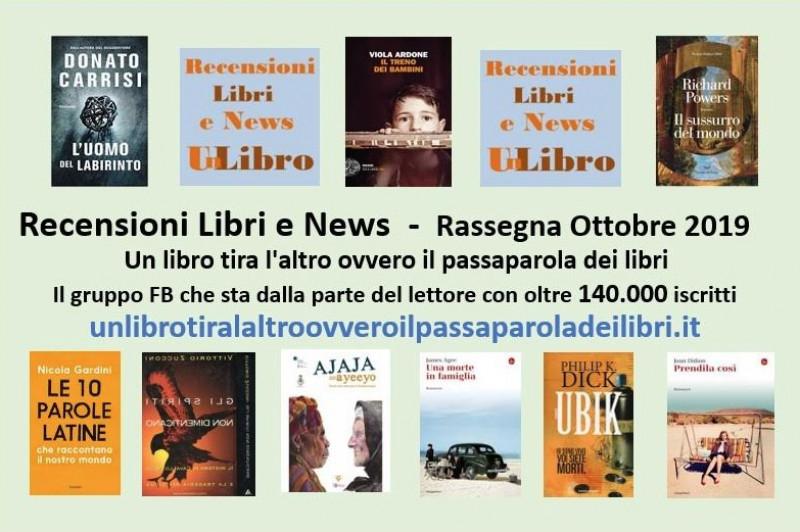 'Un libro tira l'altro': ecco i libri più letti e commentati del mese di ottobre