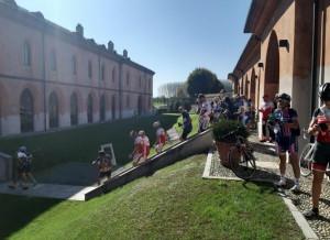 Ha fatto tappa anche a Pollenzo la terza Pedalata Unesco in Piemonte