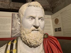 Pertinace, l'imperatore romano 'buonista' a cui la provincia di Cuneo diede i natali